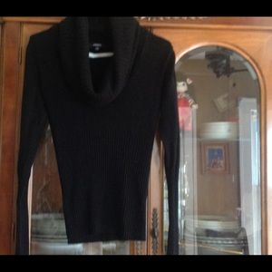 Premise small cowl neck black sweater